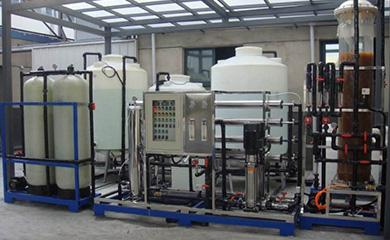 纯水服务项目:电镀纯水系统